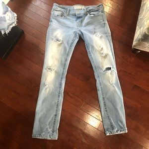 BKE distressed jeans